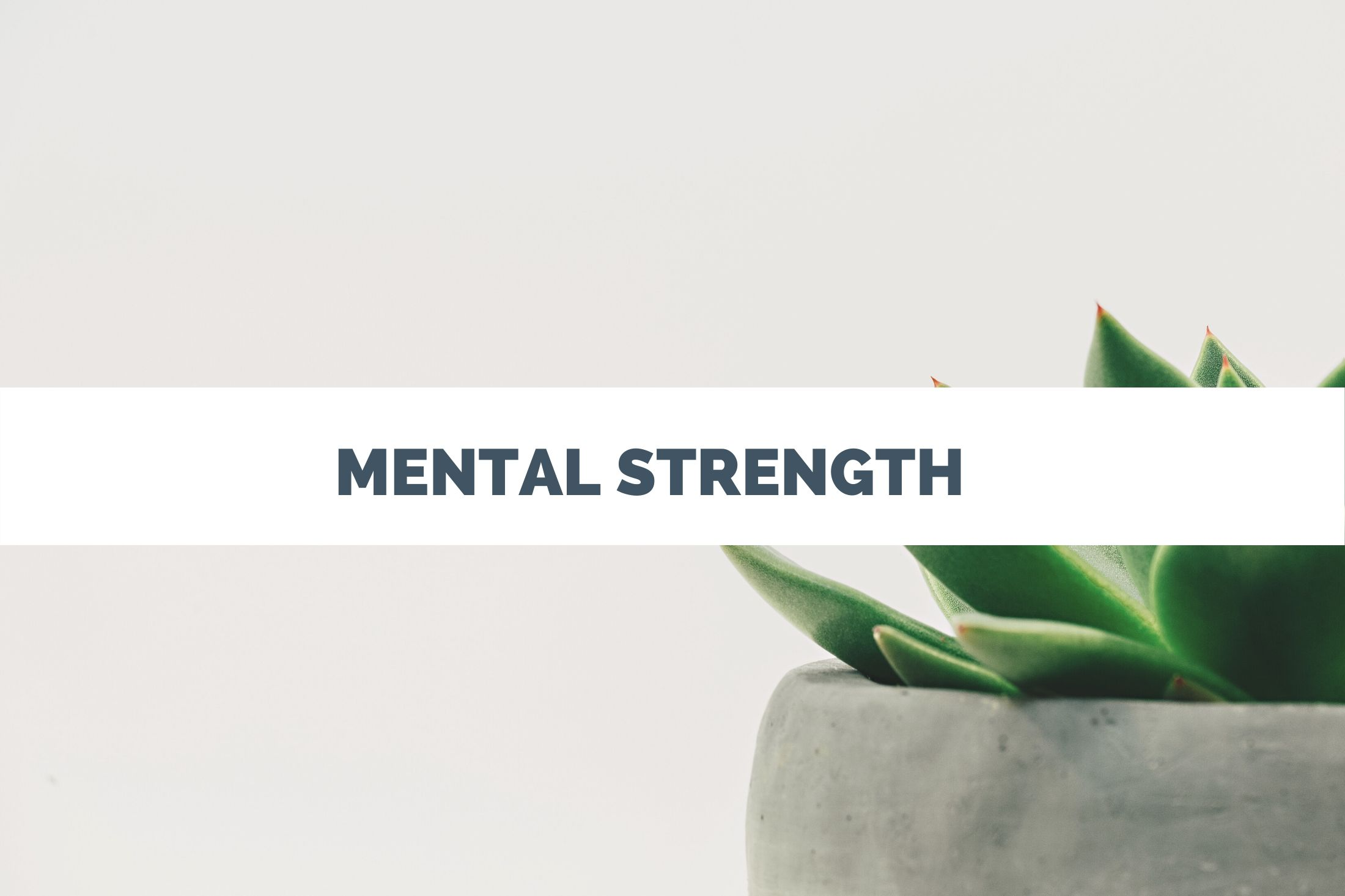 Mental strength, mental health, resilience, self care, leadership